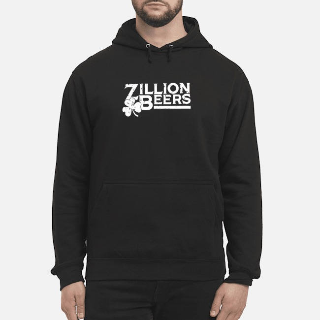 Zillion Beers Shamrock St. Patrick's Day Hoodie