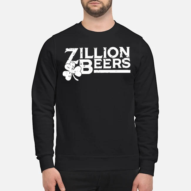 Zillion Beers Shamrock St. Patrick's Day Sweater
