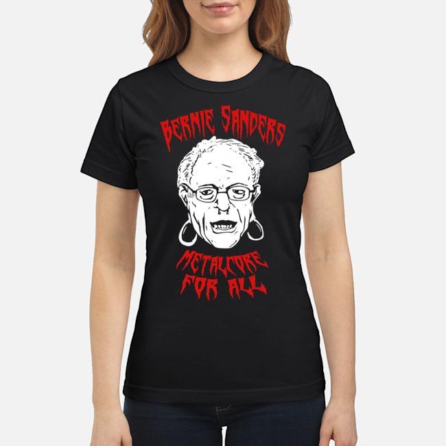 Bernie Sanders Promise Of Metalcore For All Ladies