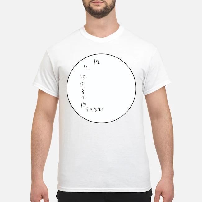 Biden A Clock Drawing Straight Fire Shirt