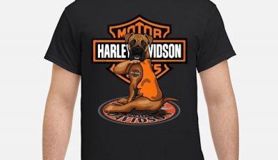Boxer Motor Harley Davidson Cycles Shirt