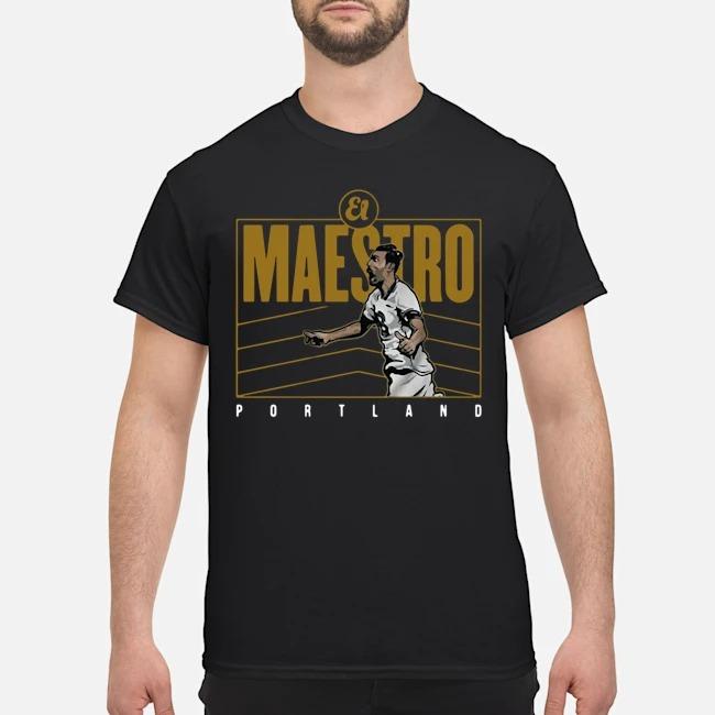 Diego Valeri El Maestro Portland Shirt