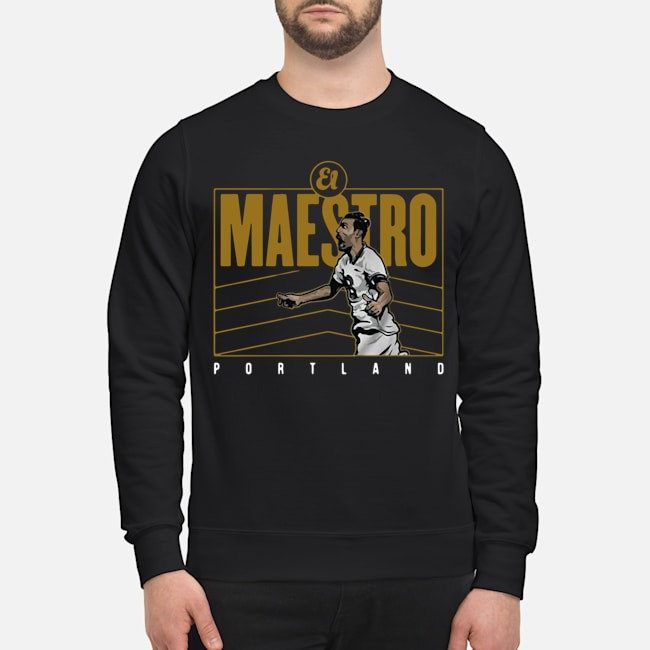 Diego Valeri El Maestro Portland Sweater