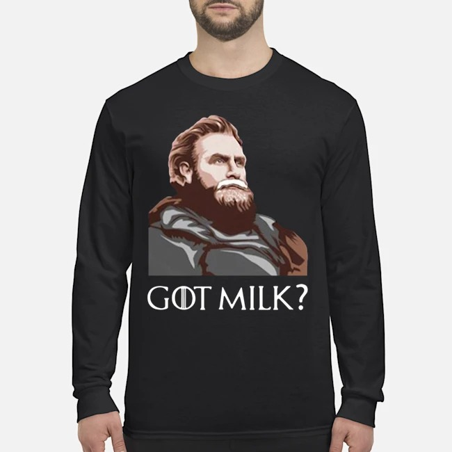 Great GOT Milk Tormund Giantsbane Game Of Thrones Long-Sleeved