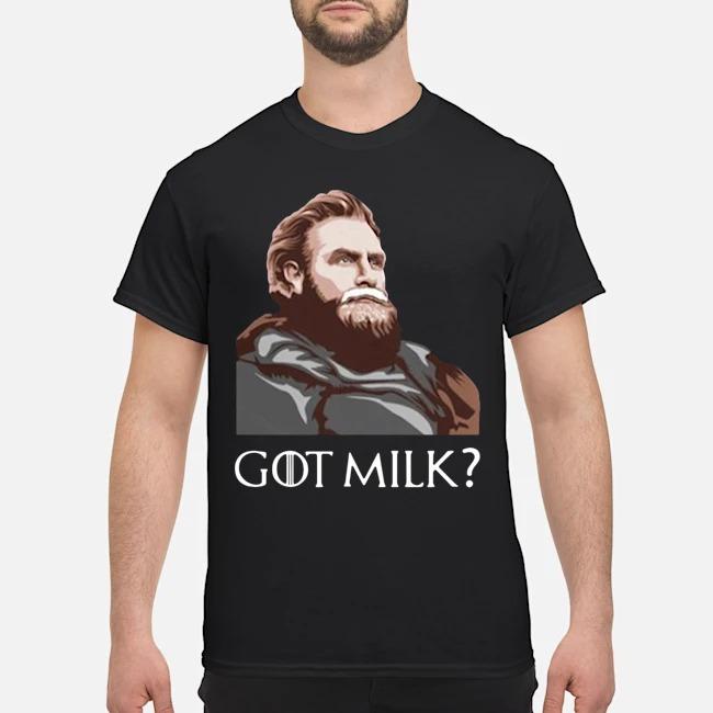 Great GOT Milk Tormund Giantsbane Game Of Thrones Shirt