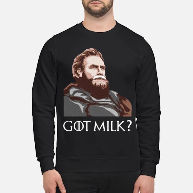 Great GOT Milk Tormund Giantsbane Game Of Thrones Sweater