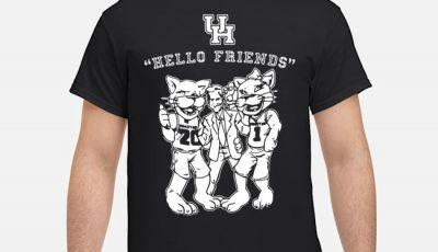 Hello Friends Houston Jim Nantz – Houston Cougars Shirt