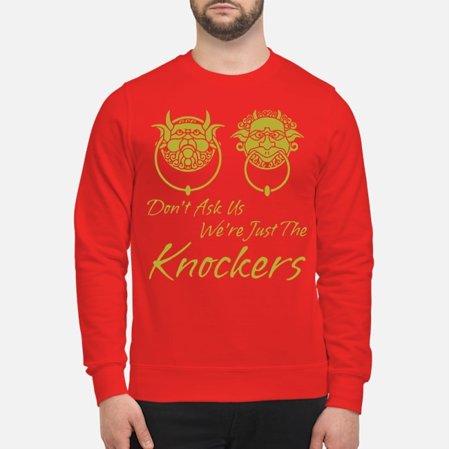 Labyrinth Don't Ask Us We're Just The Knockers Sweater