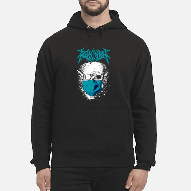 Revocation Stay Home Skull Hoodie