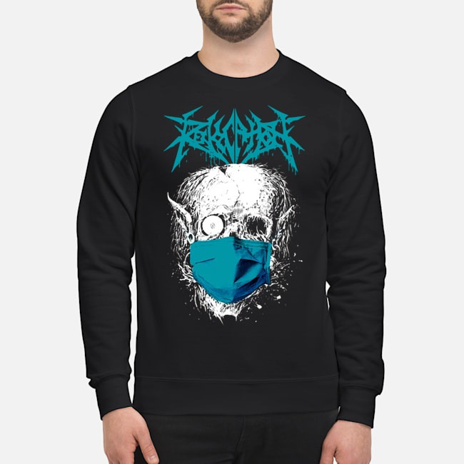 Revocation Stay Home Skull Sweater