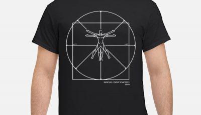 Social Distancing Man Shirt