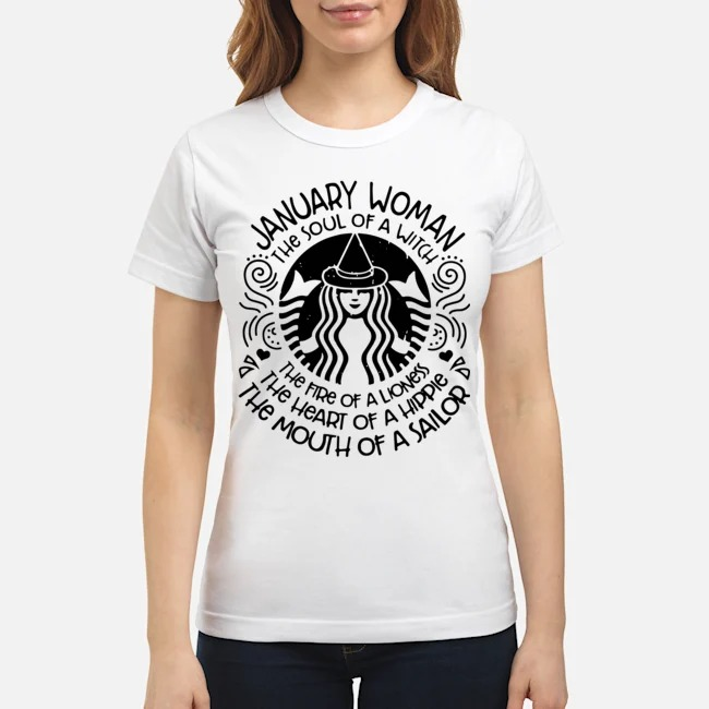 Starbucks January woman the soul of a witch the fire of a lioness Ladies