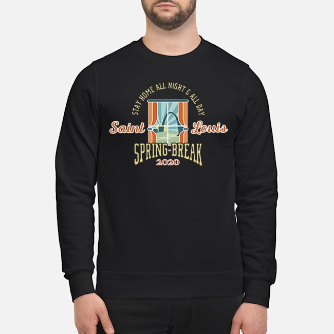 Stay Home All Night All Day Spring 2020 St. Louis Sweater
