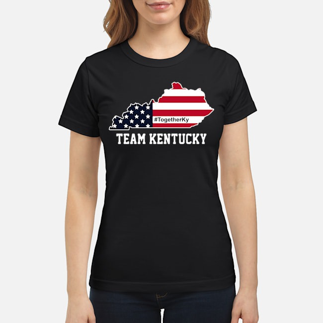 Team Kentucky American Flag Ladies