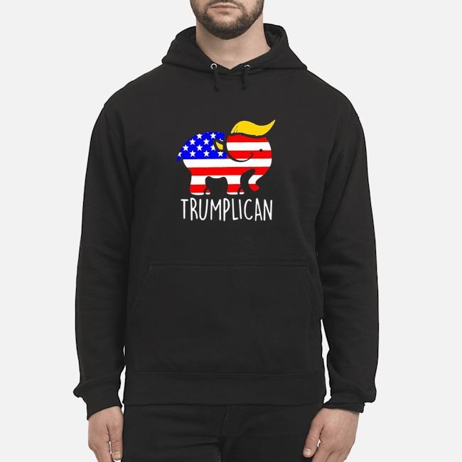 Trumplican Elephant Trump 2020 Hoodie