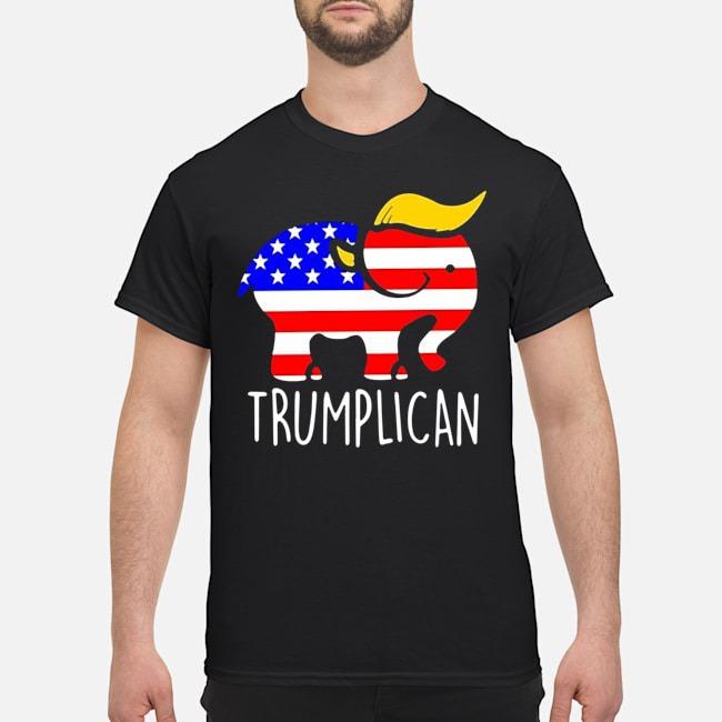 Trumplican Elephant Trump 2020 Shirt