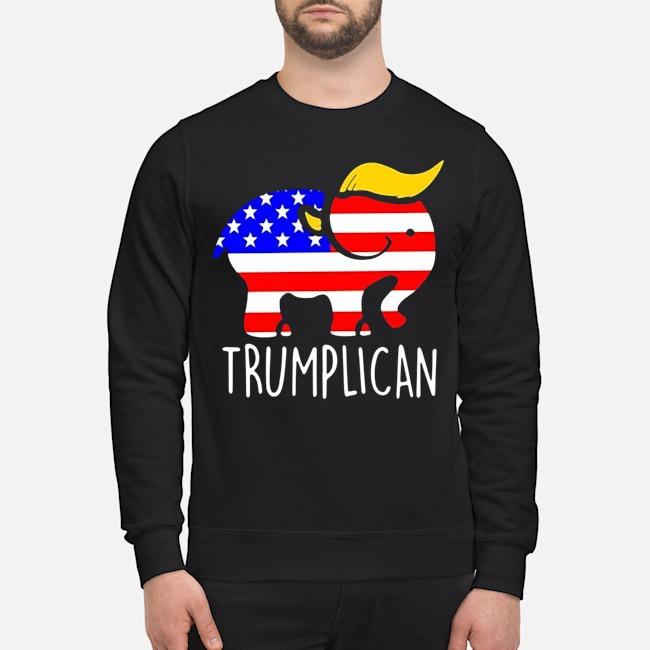 Trumplican Elephant Trump 2020 Sweater