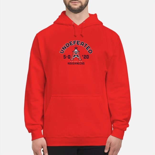 Undefeated Houston Roughnecks Hoodie