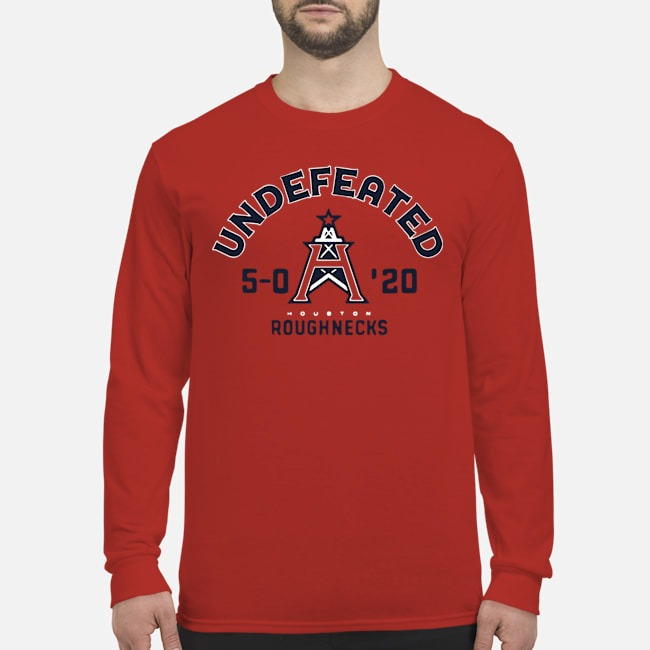 Undefeated Houston Roughnecks Long-Sleeved