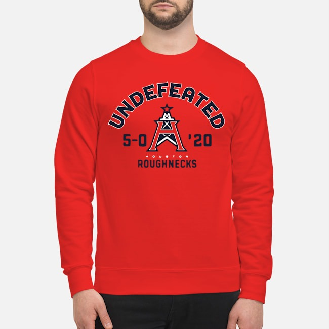 Undefeated Houston Roughnecks Sweater