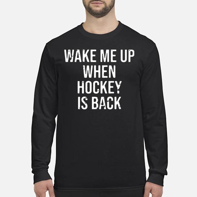 Wake Me Up When Baseball Is Back Long-Sleeved
