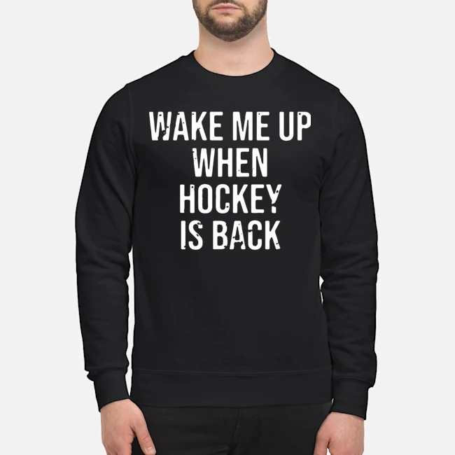 Wake Me Up When Baseball Is Back Sweater