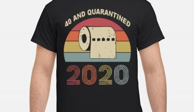 40th Birthday, Quarantine Shirt, The One Where I Was Quarantined 2020 Shirt – 40th and Quarantined, Quarantine Birthday Shirt