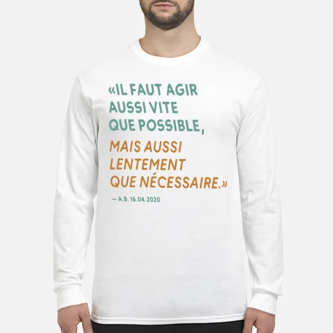 By The Way Alain Berset Long-Sleeved