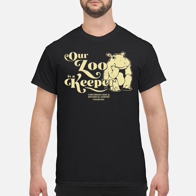 Our Zoo Is A Keeper Cincinnati Zoo T-shirt