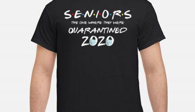 Quarantine Toilet paper Tee Class of 2020 Graduation Senior Tee Shirt