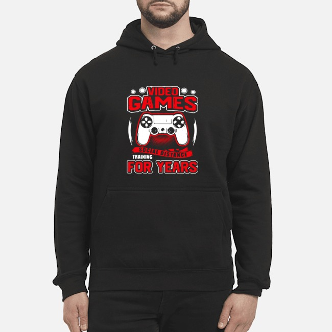 Video Games Social Distance Training For Years Hoodie