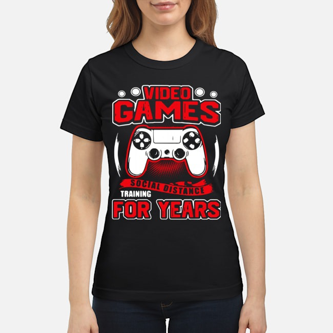 Video Games Social Distance Training For Years Ladies
