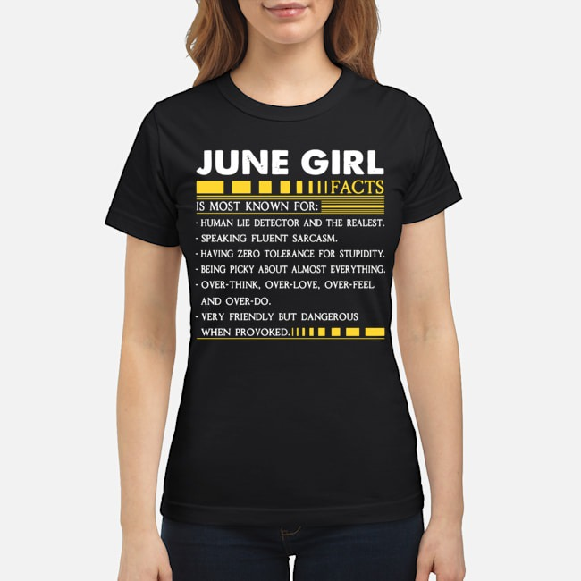 June Girl Facts Is Most Known For Human Lie Detector And The Realest Ladies
