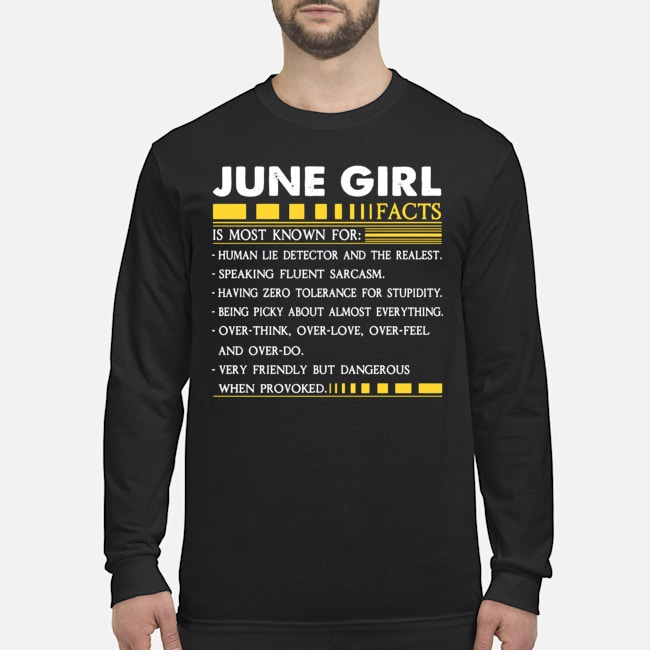 June Girl Facts Is Most Known For Human Lie Detector And The Realest Long-Sleeved