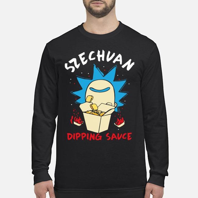 Rick And Morty Ricks Szechuan Dipping Sauce Adult Long-Sleeved