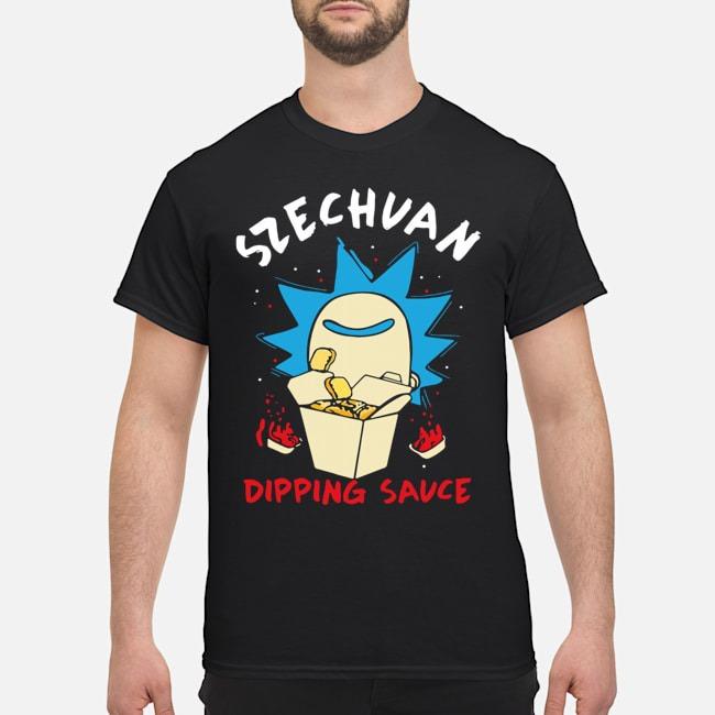 Rick And Morty Ricks Szechuan Dipping Sauce Adult Shirt