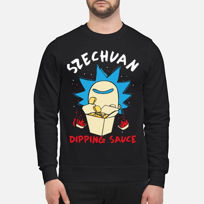 Rick And Morty Ricks Szechuan Dipping Sauce Adult Sweater