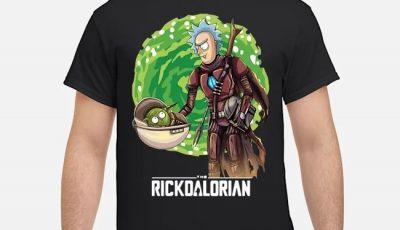 Rick And Morty The Rickdalorian Shirt