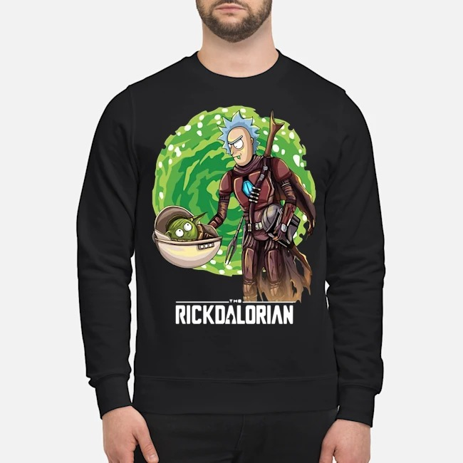 Rick And Morty The Rickdalorian Sweater