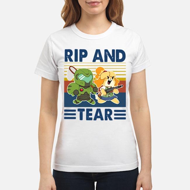Rip And Tear Vintage Ladies