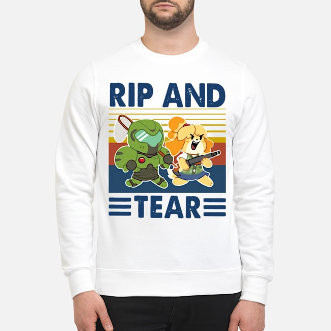Rip And Tear Vintage Sweater