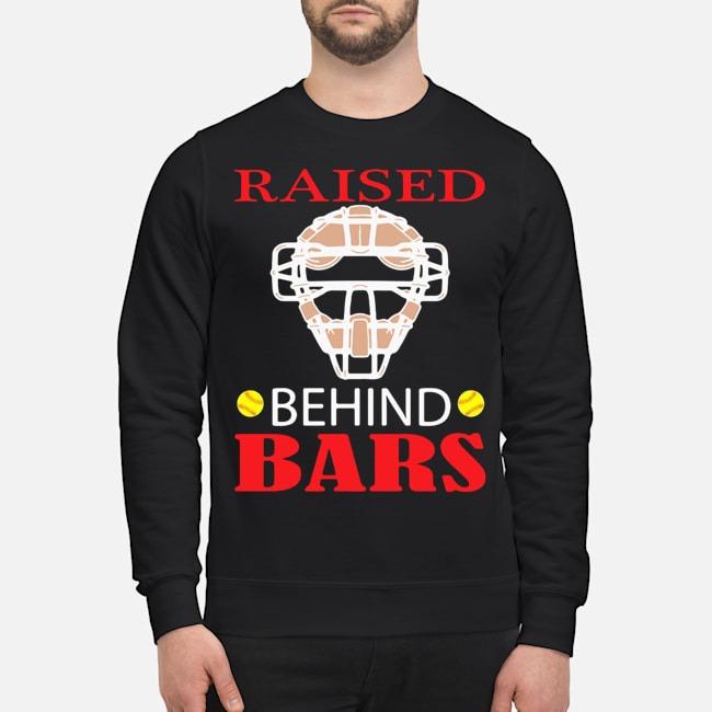 Softball Raised Behind Bars Sweater
