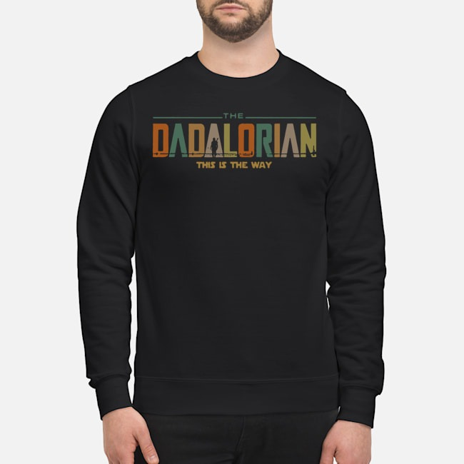 Star Wars The Dadalorian This Is The Way Vintage Sweater