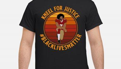 Colin Kneel For Justice Black Lives Matter Vintage Shirt
