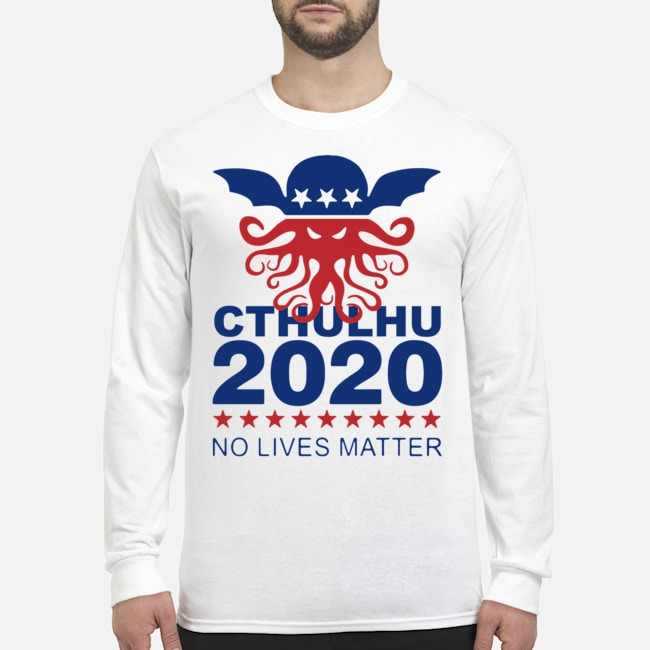 Cthulhu 2020 No Lives Matter Long-Sleeved