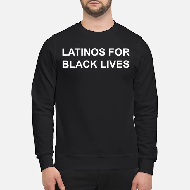 George Floyd Latinos For Black Lives Sweater
