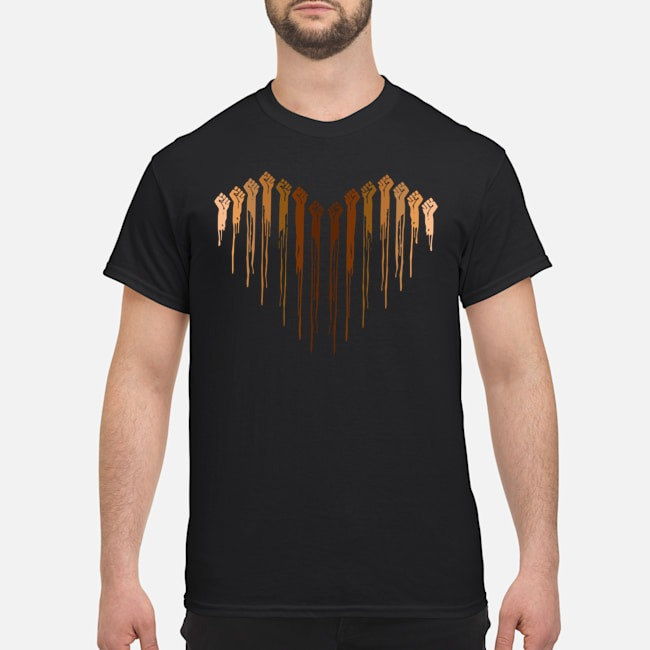 I love Heart Black Live Matter Shirt