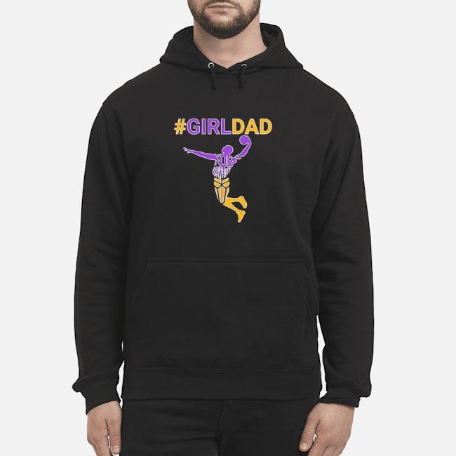 Kobe Bryant Girl Dad Hoodie