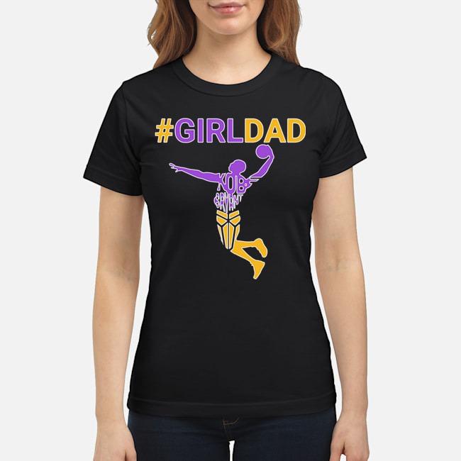 Kobe Bryant Girl Dad Ladies