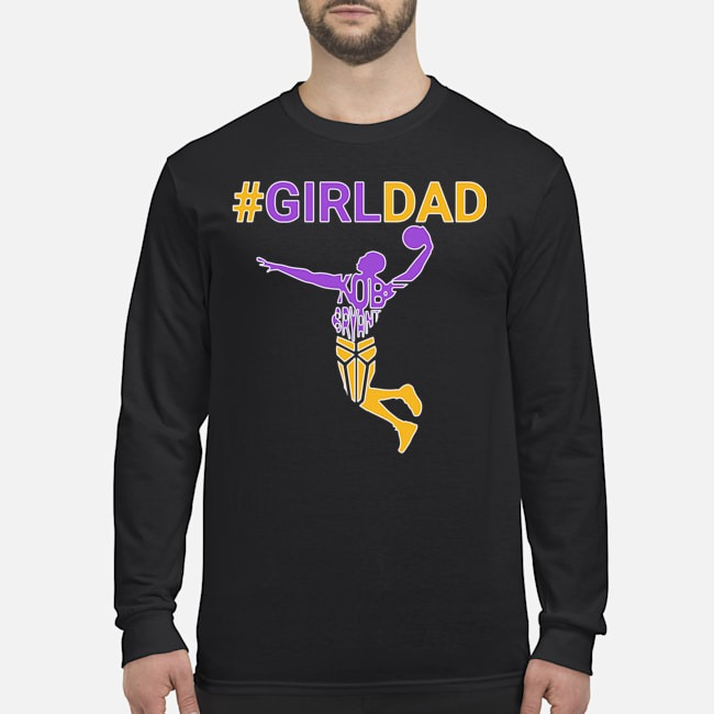 Kobe Bryant Girl Dad Long-Sleeved